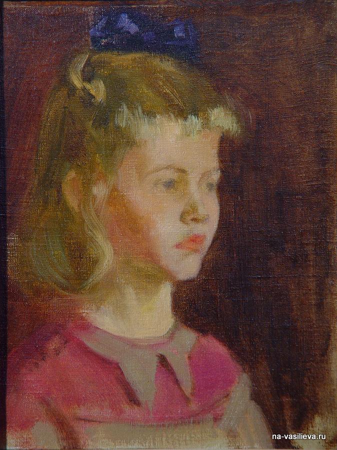 М. Гамбурд Портрет Наташи