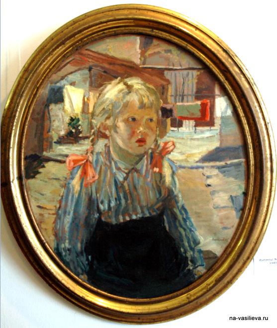Алексей Васильев Портрет дочери Наташи