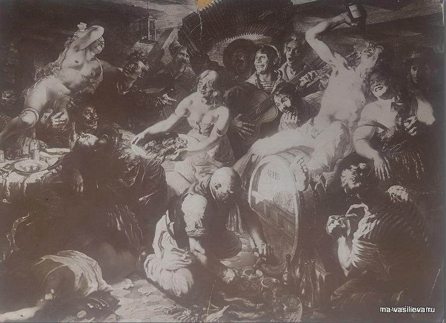 Я. Яковлев Вакханалия (1934)