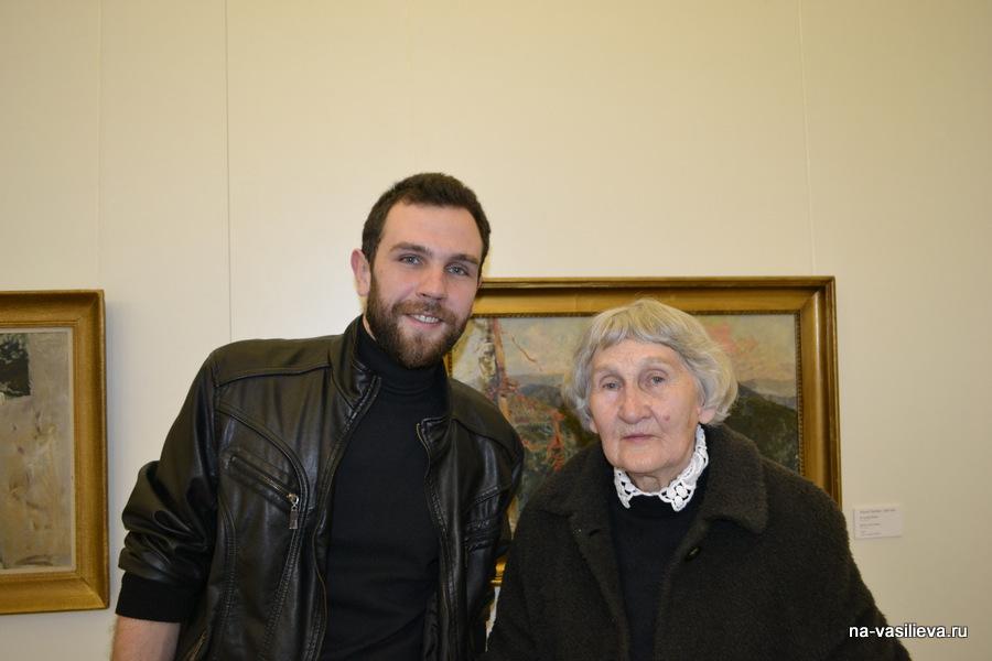 Ольга Орлова с внуком Дмитрием