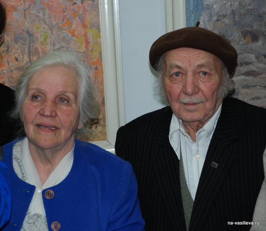 Анатолий Колчак с женой Нелей Говориной