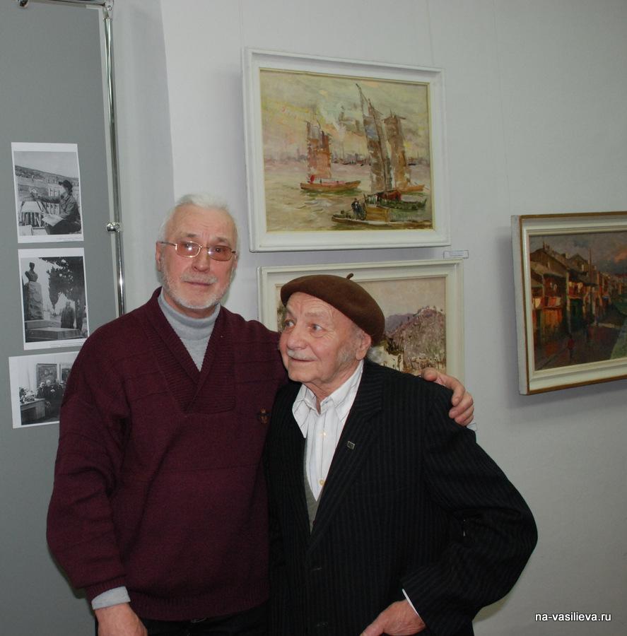 Анатолий Колчак и Юрий Канашин