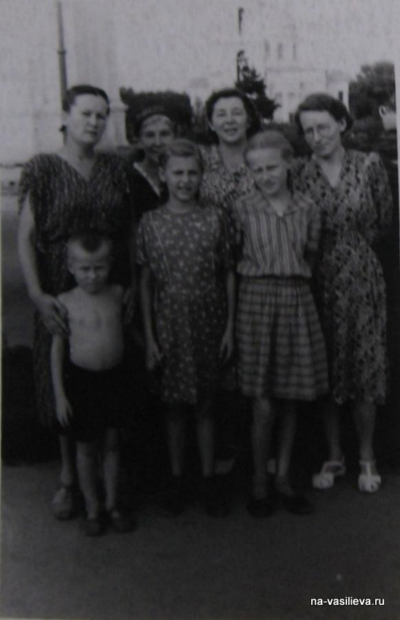 Кишинев 1951 Васильевы и Савинские