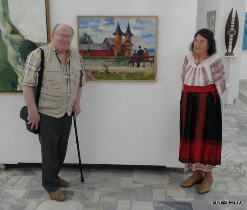 Элеонора Романеску с Ярославом Васильевым