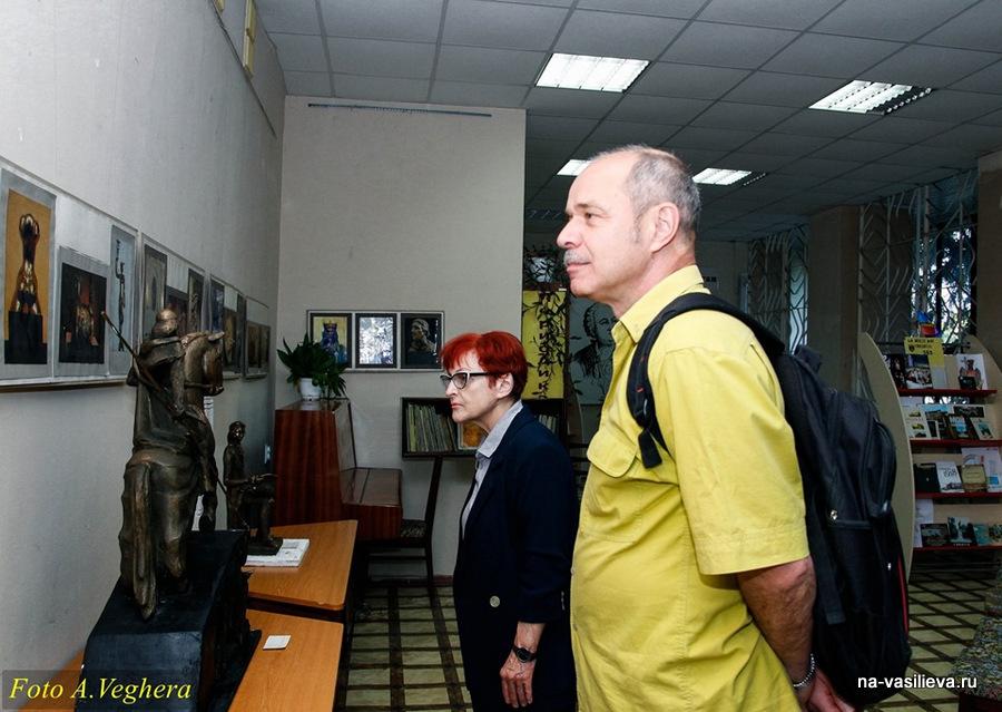 Выставка Виктора Ковалева 3
