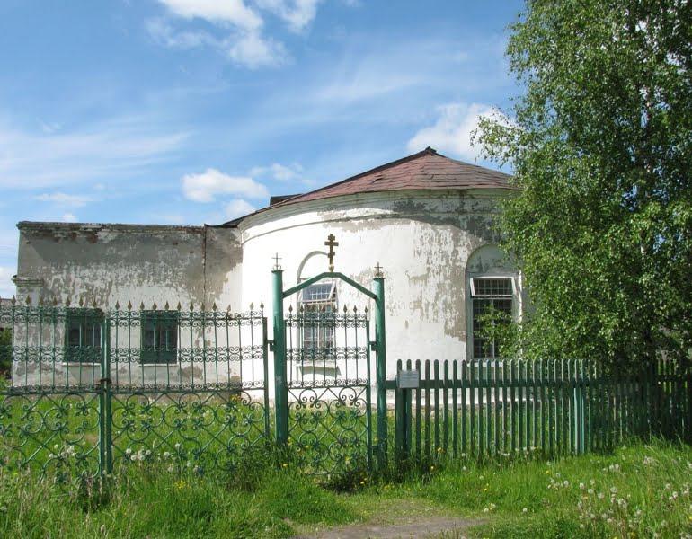 Холмогоры. Церковь Николая Чудотворца. 2008г.