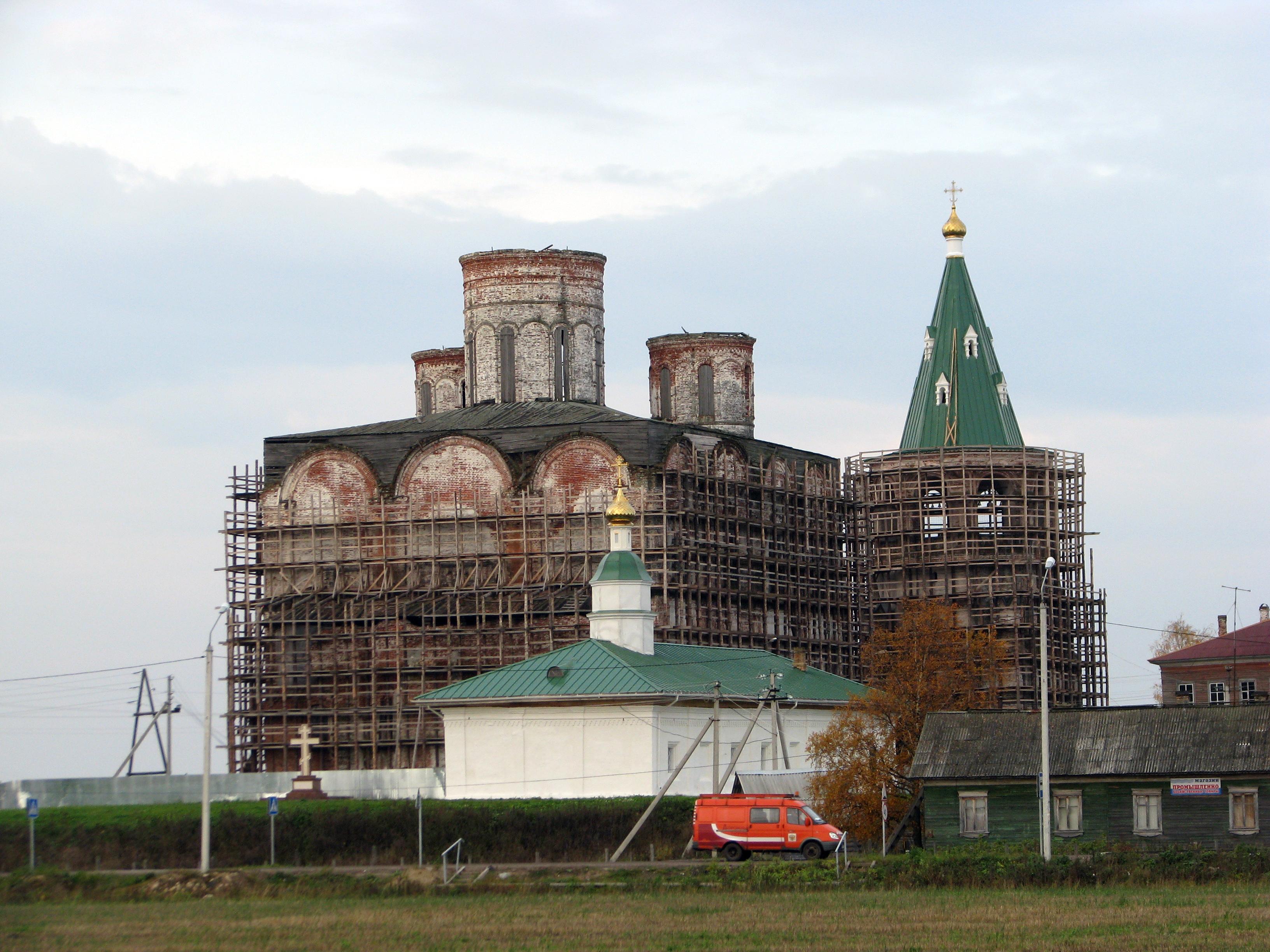 Холмогоры. Спасо-Преображенский собор. 2010г.
