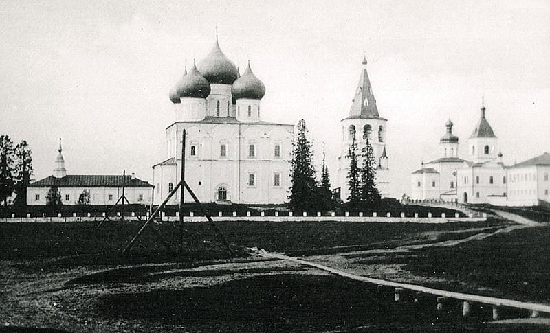 Холмогоры. Спасо-Преображенский собор. 1910г.