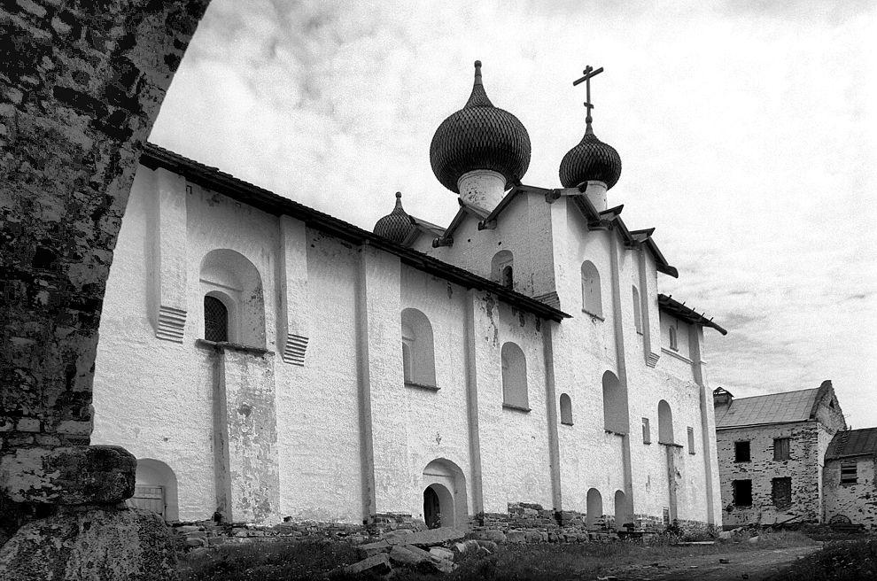 Соловки Церковь Успения