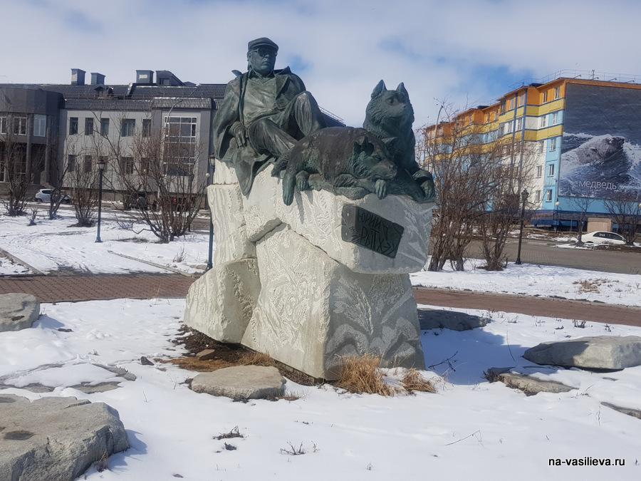 Памятник Ю Рытхэу