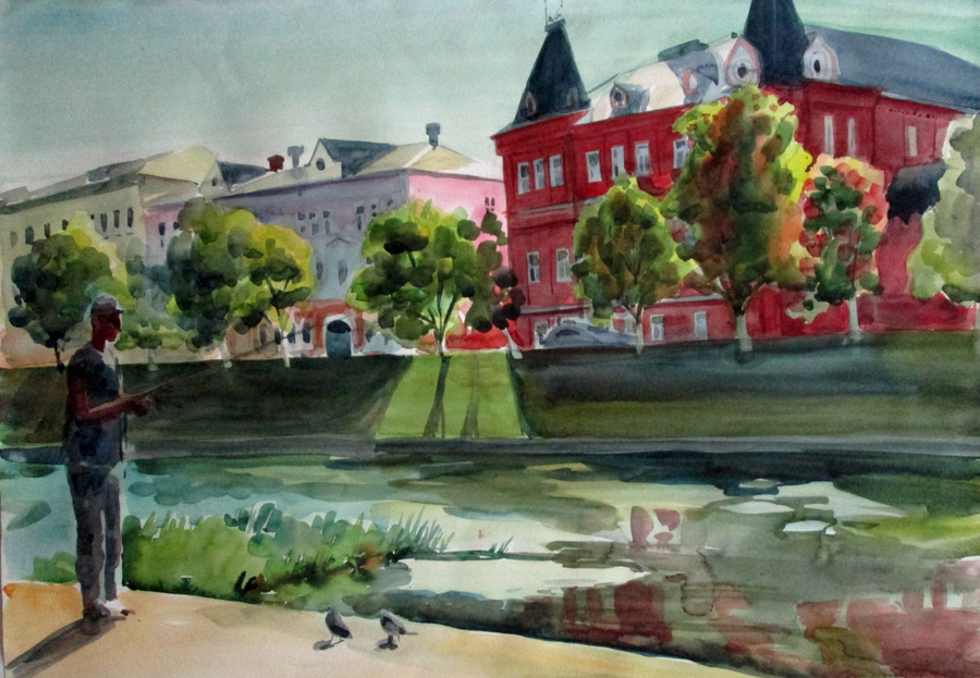 Выставка А. Сокольско 6