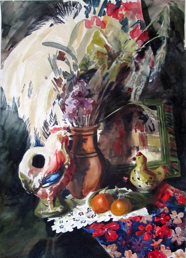 Выставка А. Сокольско 4