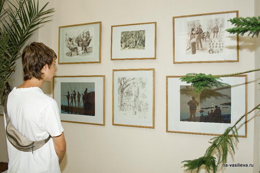 Выставка А. Сокольско 14