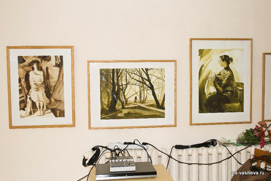 Выставка А. Сокольско 15