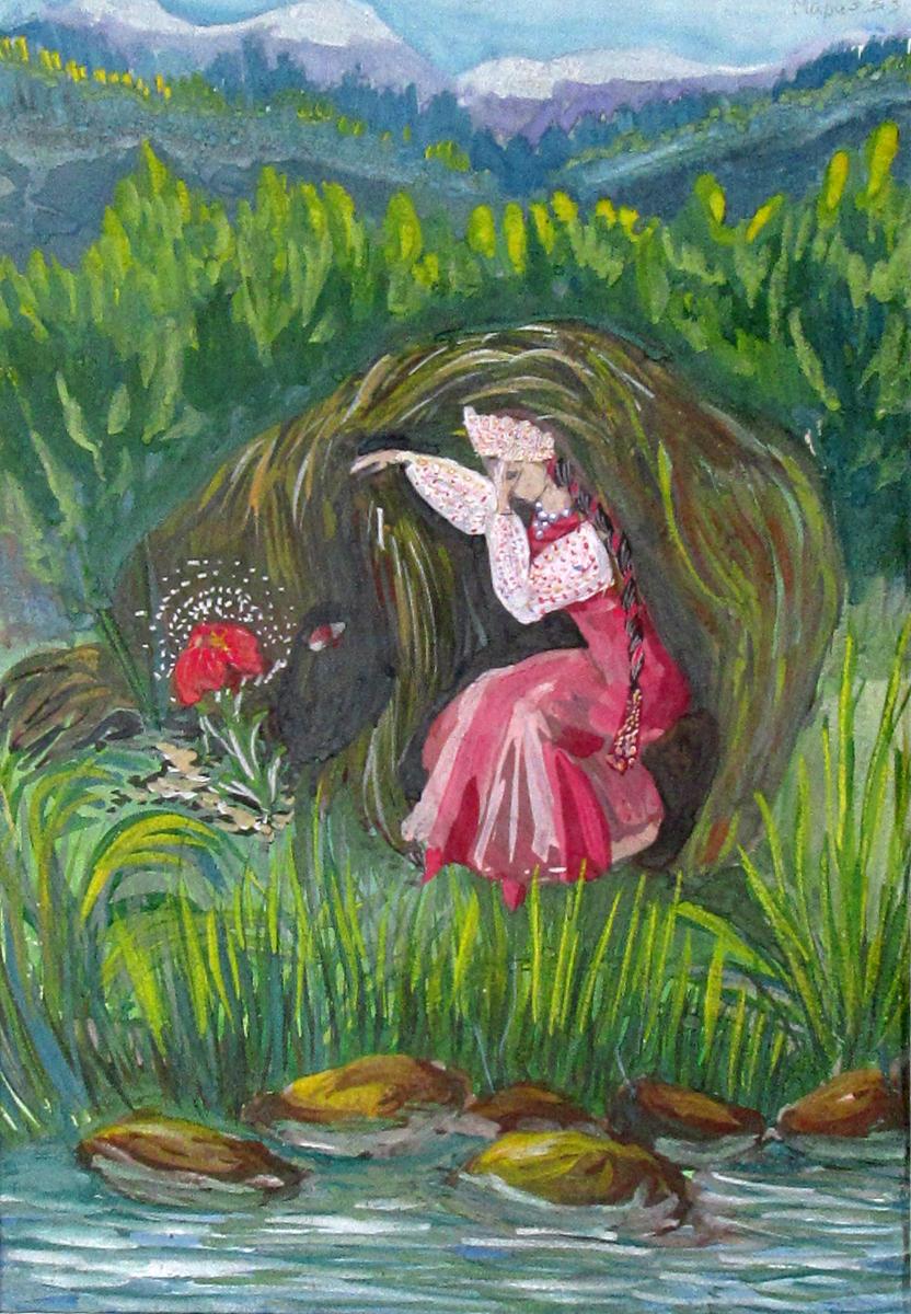 Аксаков-Аленький-цветочек-Мосейкина-Мария-14-лет