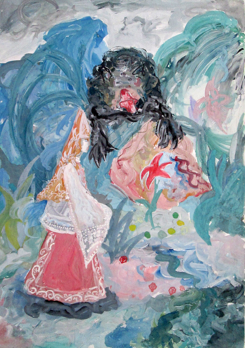 Аленький-цветочек-Работа-над-образами-Королева-Лера-13-лет-2003