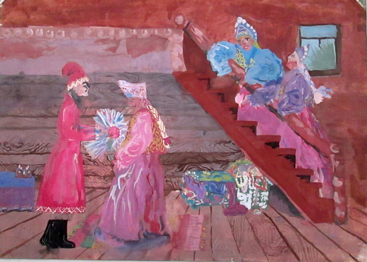 Аленький-цветочек-Работа-над-образами-Тучкова-Аня-13-лет