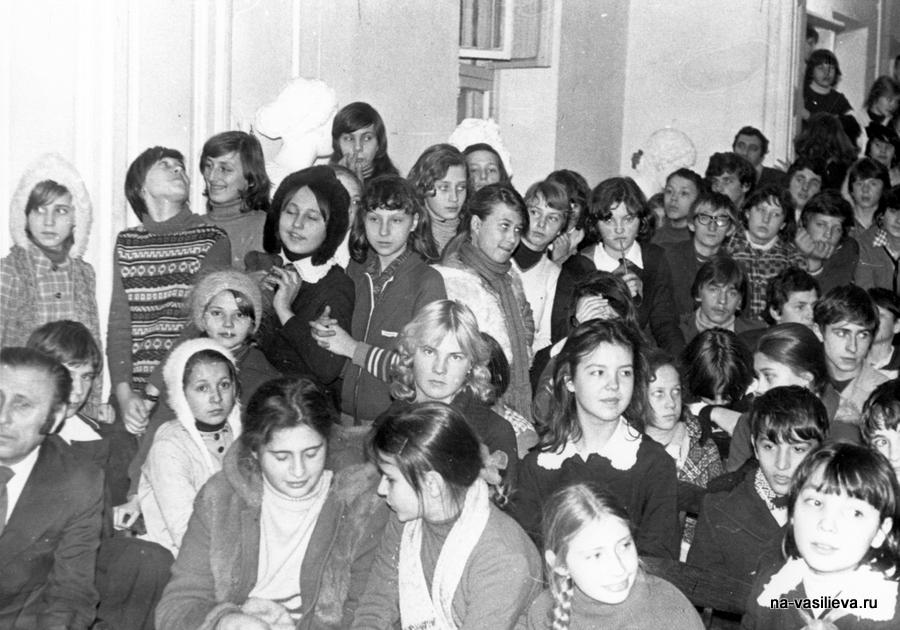 ученики 2 НА 1978