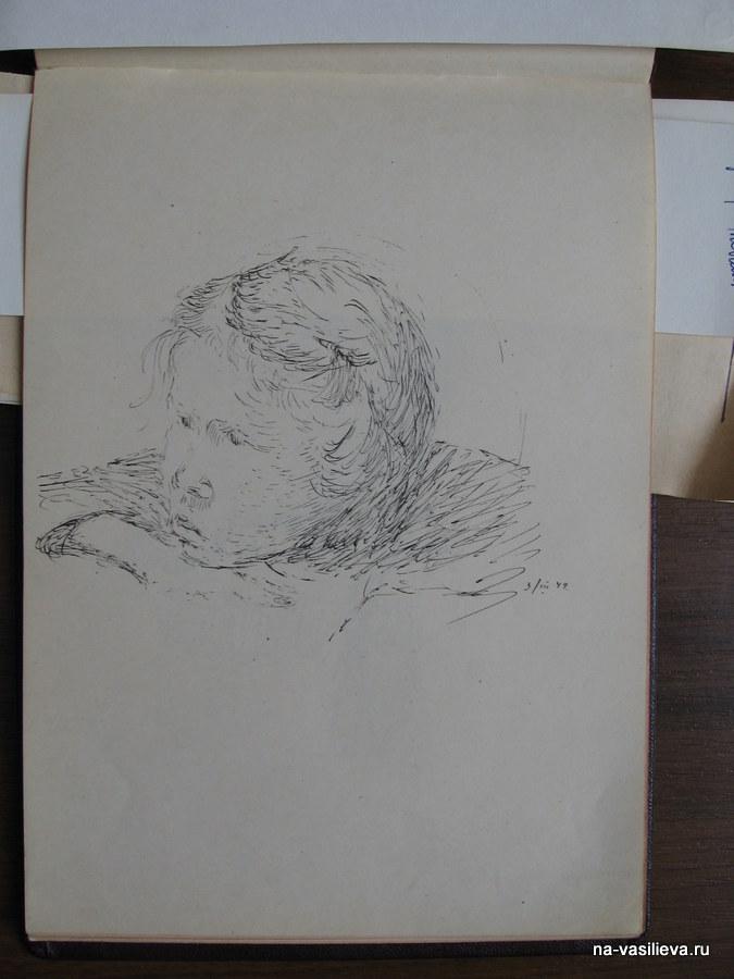 рисунок Наташа