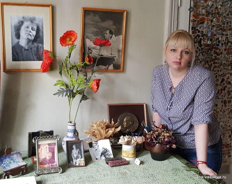Илона Решетникова в доме НА