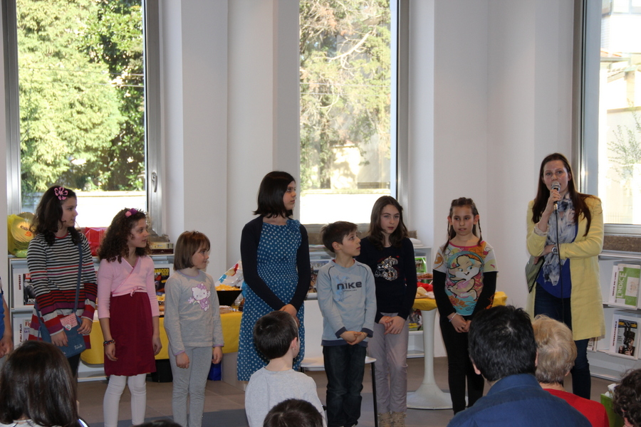 выставка в Милане учеников Лены Лен 1