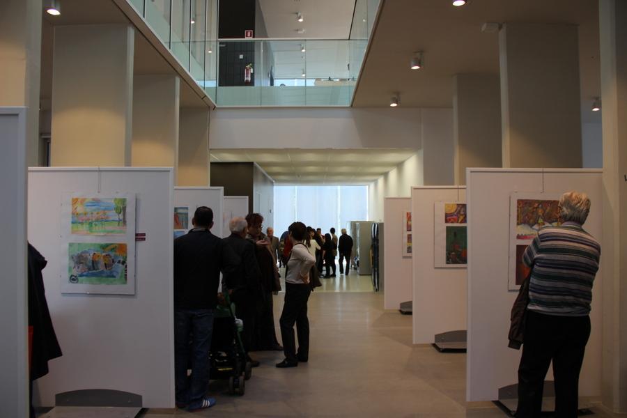 выставка в Милане учеников Лены Лен 6