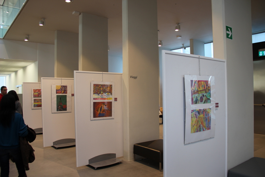 выставка в Милане учеников Лены Лен 5