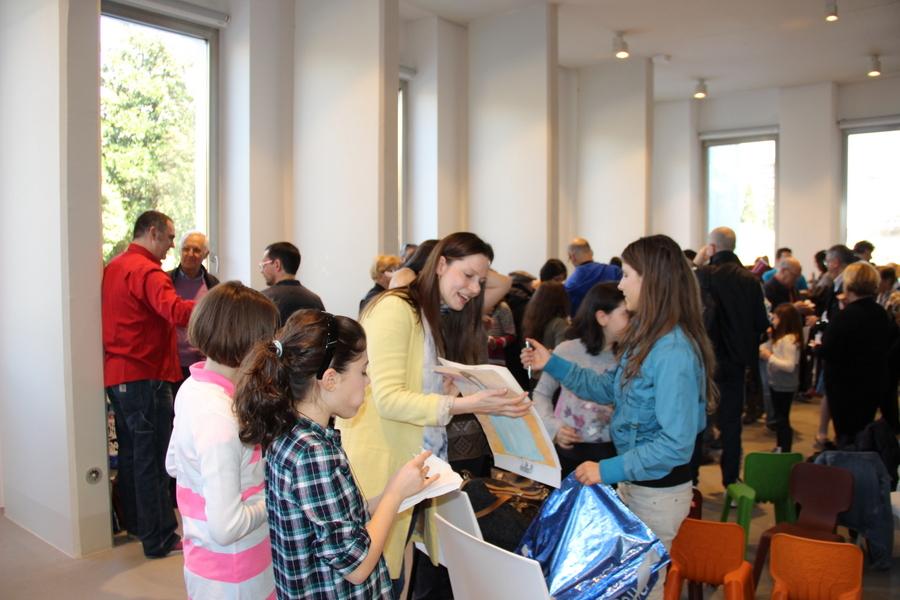 выставка в Милане учеников Лены Лен 2