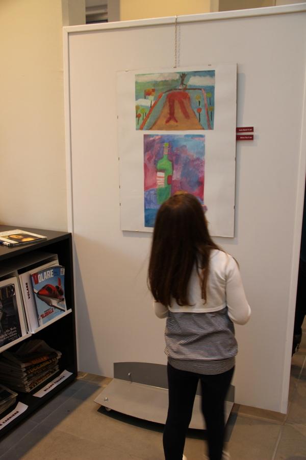 выставка в Милане учеников Лены Лен 8
