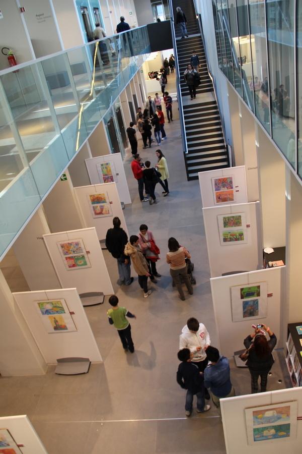 выставка в Милане учеников Лены Лен 7