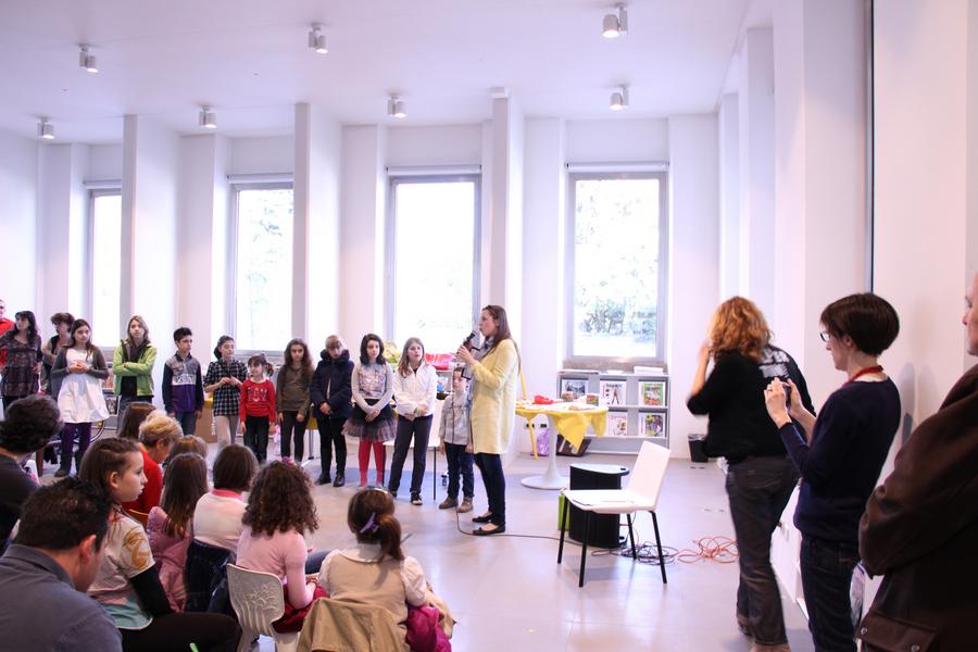 выставка в Милане учеников Лены Лен 10